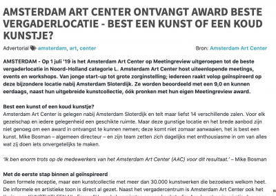 Amsterdam Art Center