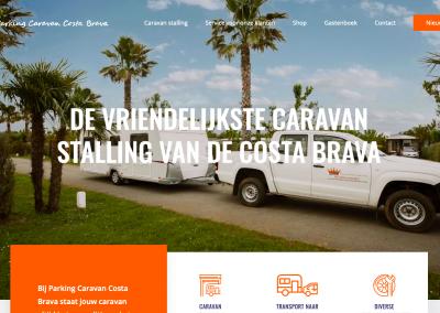 Parking Caravan Costa Brava